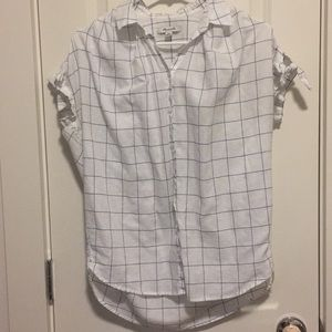 Madewell Windowpane central shirt
